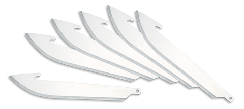 "Outdoor Edge Replacement Blades 3.5""  6 Pack"