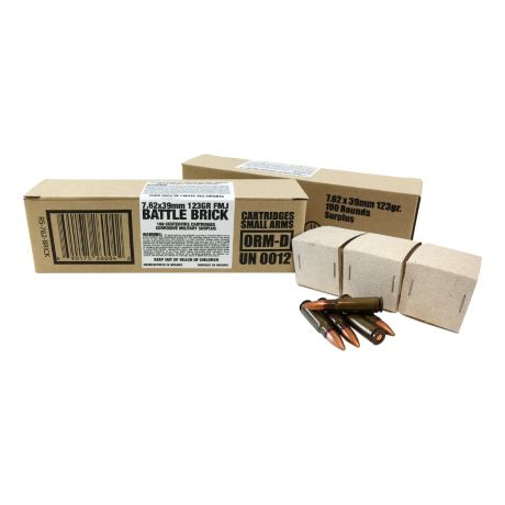 7.62 x 39MM Loaded Corrosive Military Surplus Ammunition