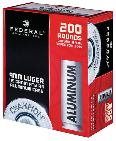 Federal Aluminum 9mm