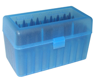 blue ammo box