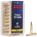 pack of CCI 17 HMR with V-MAX bullets