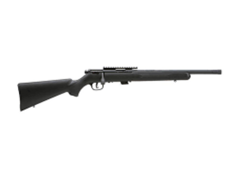 savage mark ii 22 lr in black stock