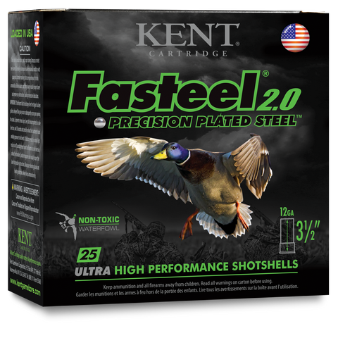 Fasteel 2.0 PRECISION PLATED STEEL SHOTSHELLS
