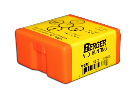 Berger VLD Hunting Bullets (100CT)