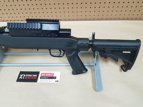 USED* RUSSIAN SKS WITH TAPCO STOCK W/ 2 MAGS – Extreme Range