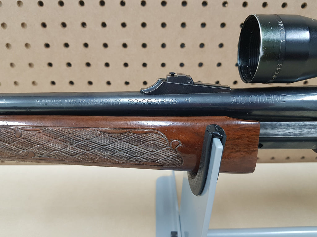 USED* REMINGTON 760 CARBINE 30-06 – Extreme Range Outfitters