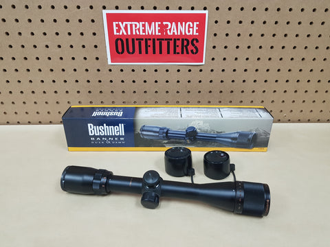 *AUCTION* BUSHNELL BANNER 3.5-10 X 36MM SCOPE