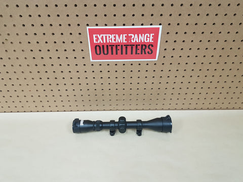 *AUCTION* USED 3-9x40mm SCOPE WITH RINGS