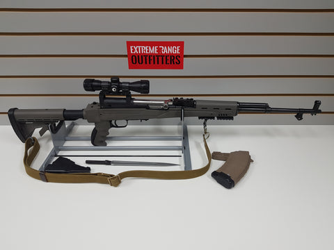 *AUCTION* USED 7.62x39 W/ ATI STOCK & SCOPE