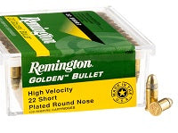 green and yellow box of 22 ammunition