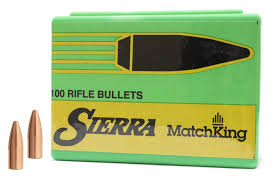 Sierra MatchKing Bullets for reloading