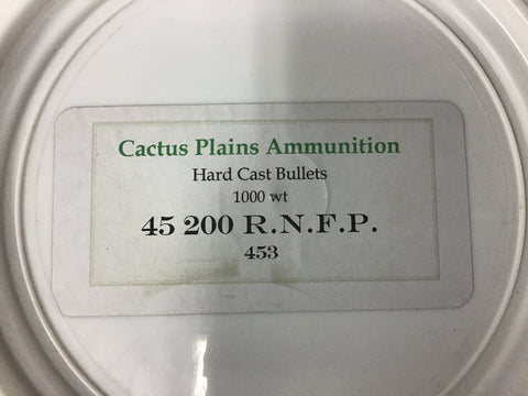 Hard Cast Lead Bullets - 1000 Count