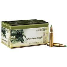 AMERICAN EAGLE 5.56 x 45mm 62gr FMJ 150 PACK