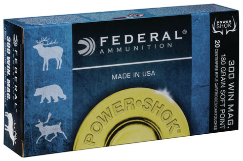 Federal Power Shok Centerfire Ammunition