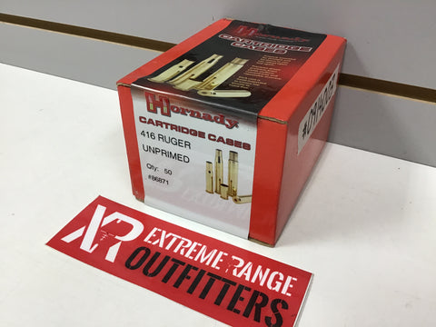 0914003 BRASS NEW 416 RUGER x 50 COUNT