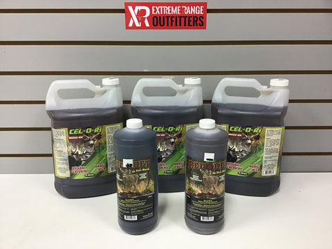 1013002 NEW CEL-O-RI ATTRACTANT x 12L AND RED BET x 2L