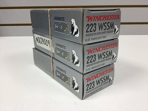 0629009 AMMO SUPER-X 223 WSSM x 60 ROUNDS