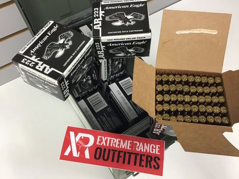 0727001 AMMO 223 REM 55Gr FMJ x 1000 ROUNDS