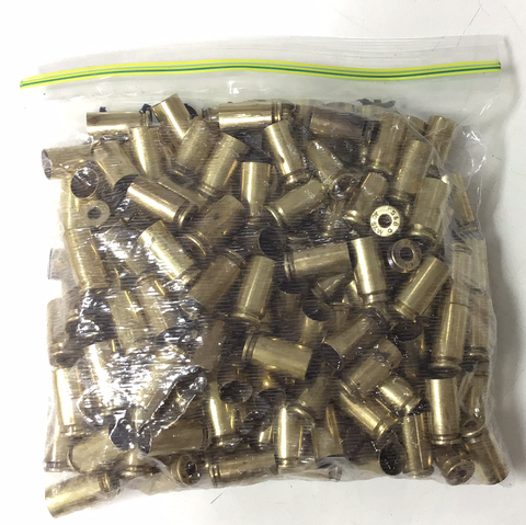 1031016 EMPTY BRASS 40 S&W x 156 PIECES