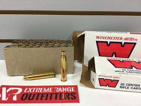 0829019 NEW EMPTY BRASS 300 WIN MAG x 40 PIECES