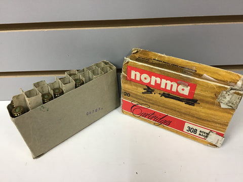 0927007 AMMO 308 NORMA MAG 180 Gr x 12 ROUNDS