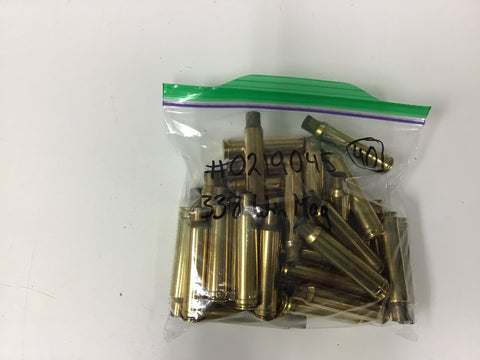 0219045 BRASS 338 WIN MAG 40 COUNT