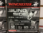 0921001 AMMO BLIND SIDE 12 Ga #6 x 125 ROUNDS