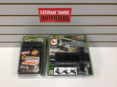120310 NEW AR-15 MAG CHARGER + AMMO BOX