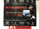 0921002 AMMO ROOSTER XR 12 Ga #5 x 60 ROUNDS
