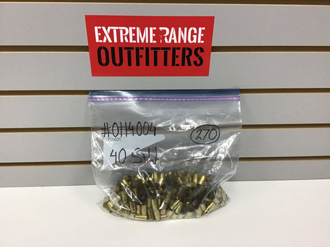 0114004 BRASS 40 S&W 270 COUNT