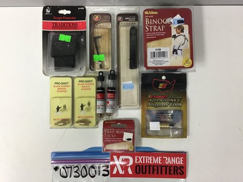 0730013 NEW MUZZLELOADING ACCESSORY KIT x 10 PIECES