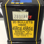 1110020 BULLETS 458 CAL x 40 PIECES