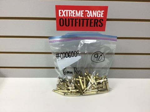 0206009 BRASS 6mm REM 90 COUNT