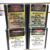 1110023 BULLETS SOLID 470 NITRO x 80 PIECES