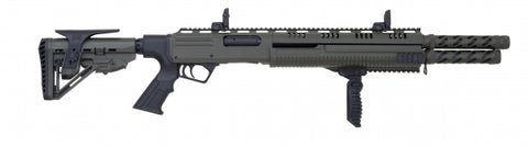 MH12 DOUBLE BARREL PUMP ACTION SHOTGUN