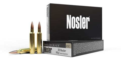 Nosler match grade™ ammunition