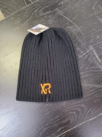 Acrylic Toque With Ponytail Opening