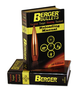 The Berger Bullets 1st Edition Reloading Manual