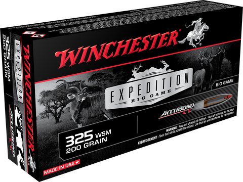 WINCHESTER EXPEDITION BIG GAME AMMUNITION