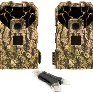 two camo trailcams