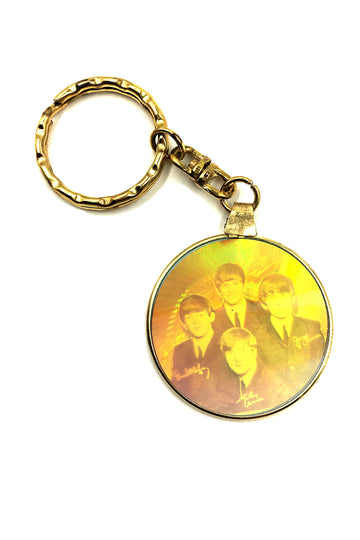 Beatles Hologram Keychain
