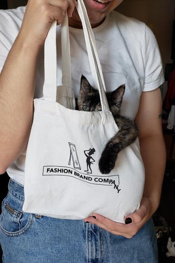 Fashion Brand Company Kitten Tote Bag