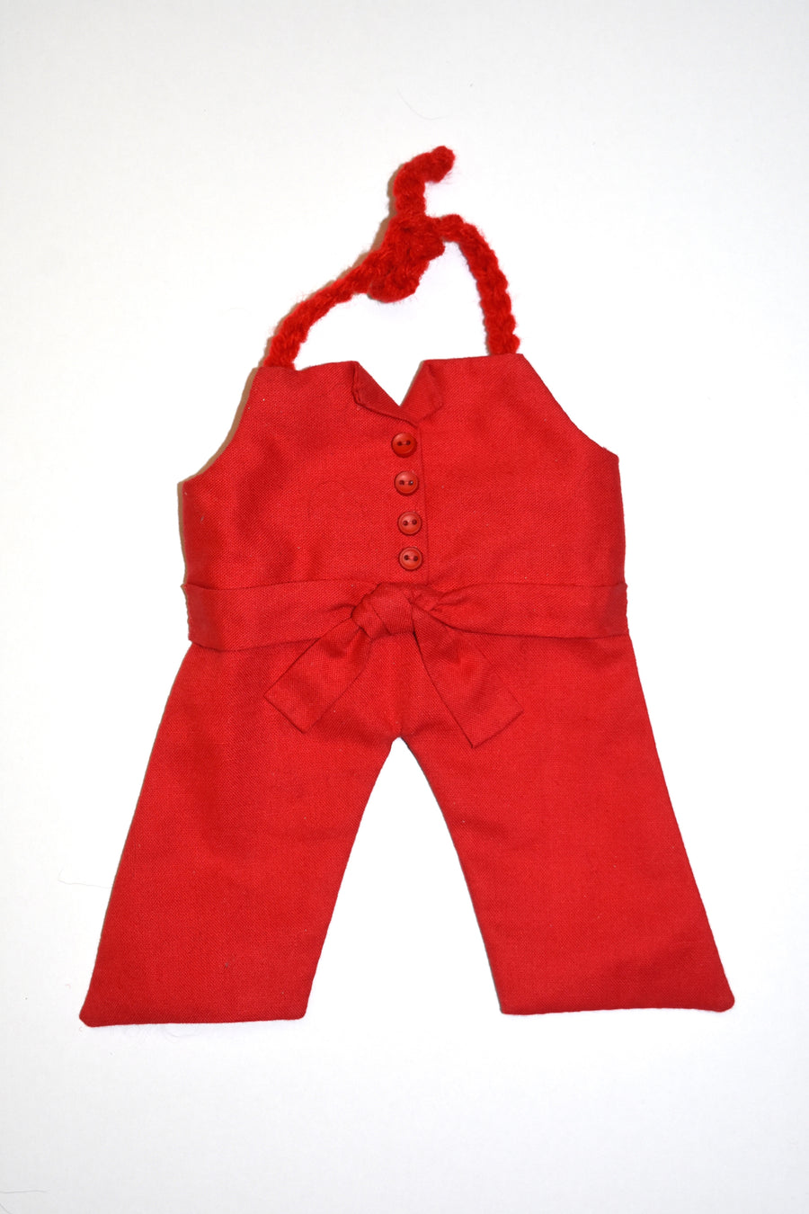 Lizard Red Directors Jumpsuit