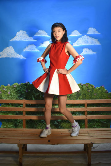 FINAL SALE- 2 left- Cheerleader Dress