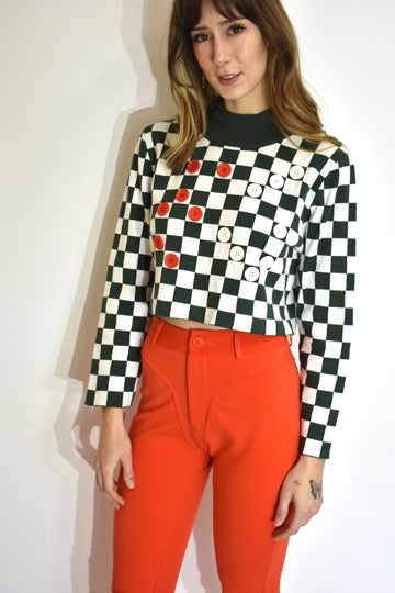 Eternal Checkers Game Sweater
