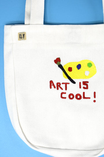 Art is Cool Tote