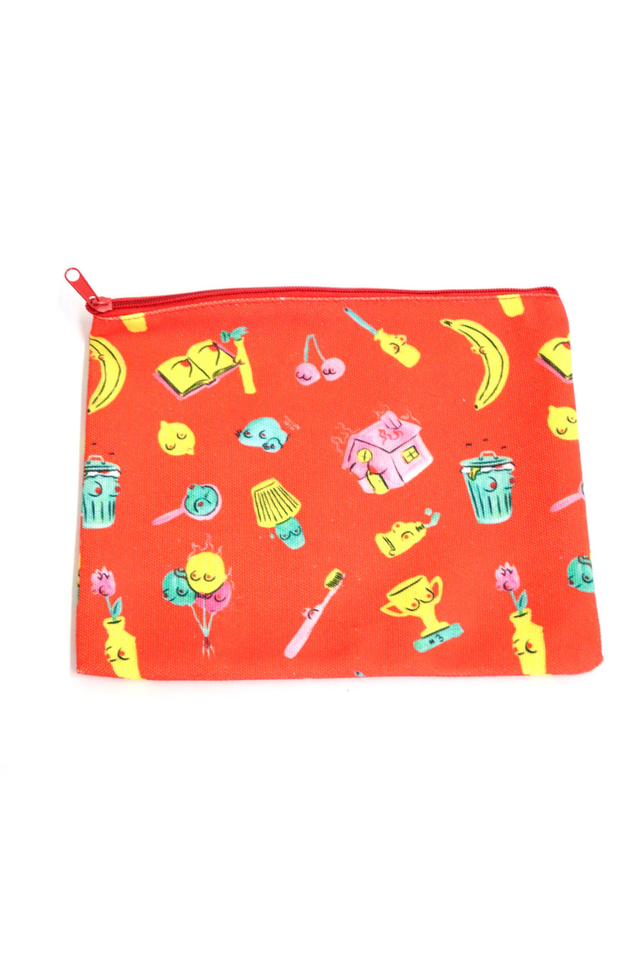 Sexual Object Zipper Pouch
