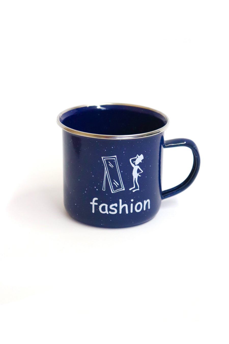 HALF OFF FASHION Enamel Camp Mug