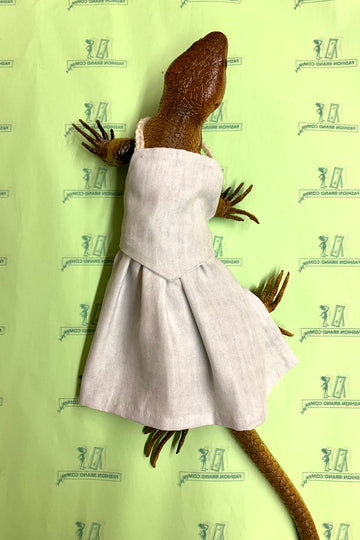OOAK Lizard Country Virgin Gown