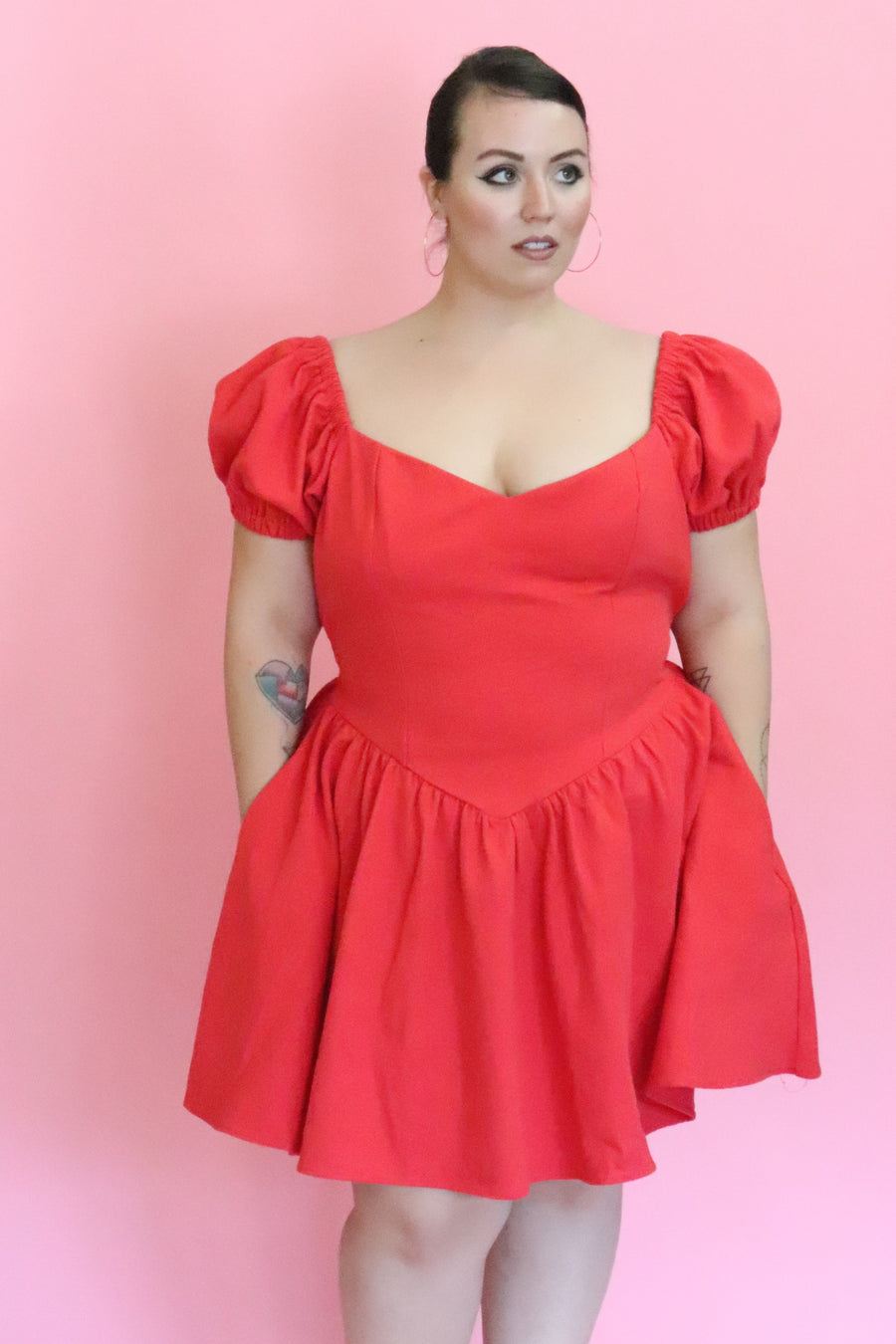The Virgin Gown Red MINI